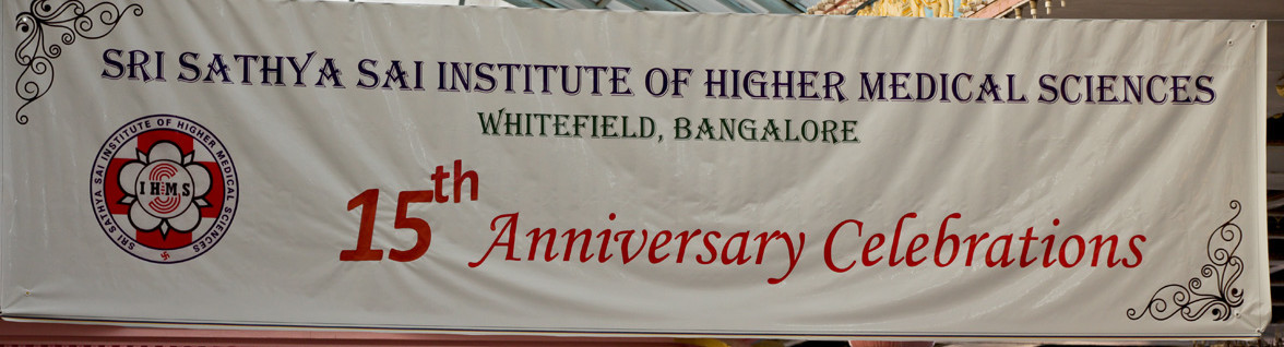 15th Annual Celebrations of SSSIHMS, Whitefield-24th January 2016