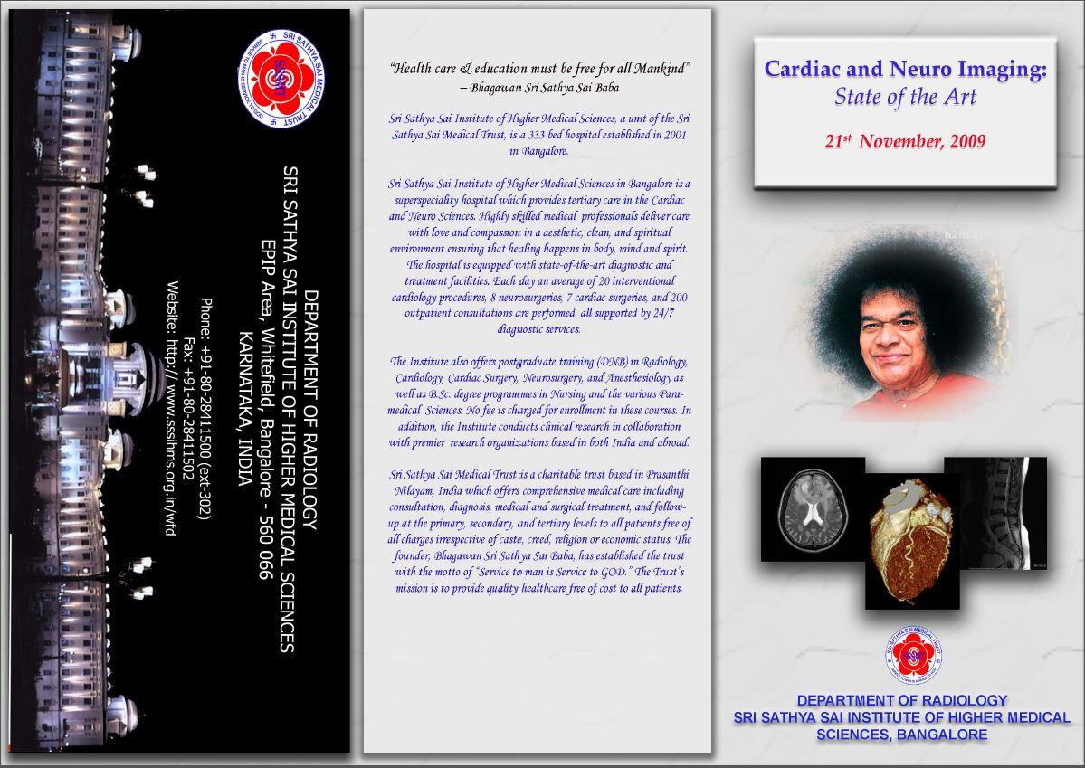 SACRED-1: 21-Nov-2009 – (Neuro and Cardiac Imaging : State Of the Art)